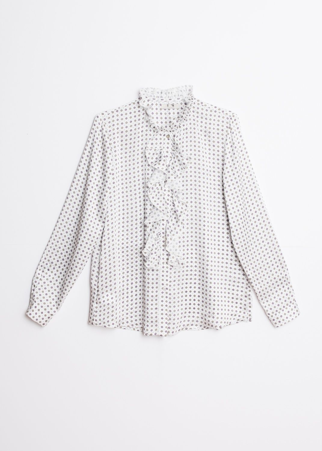BLOUSE À VOLANTS FLUIDE