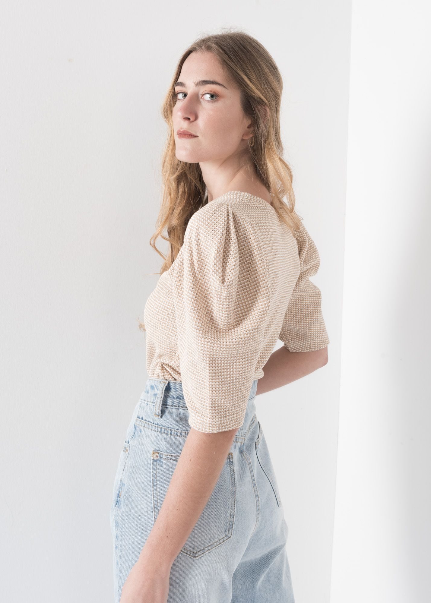 JACQUARD SWEATER AVEC SLEEVES complets