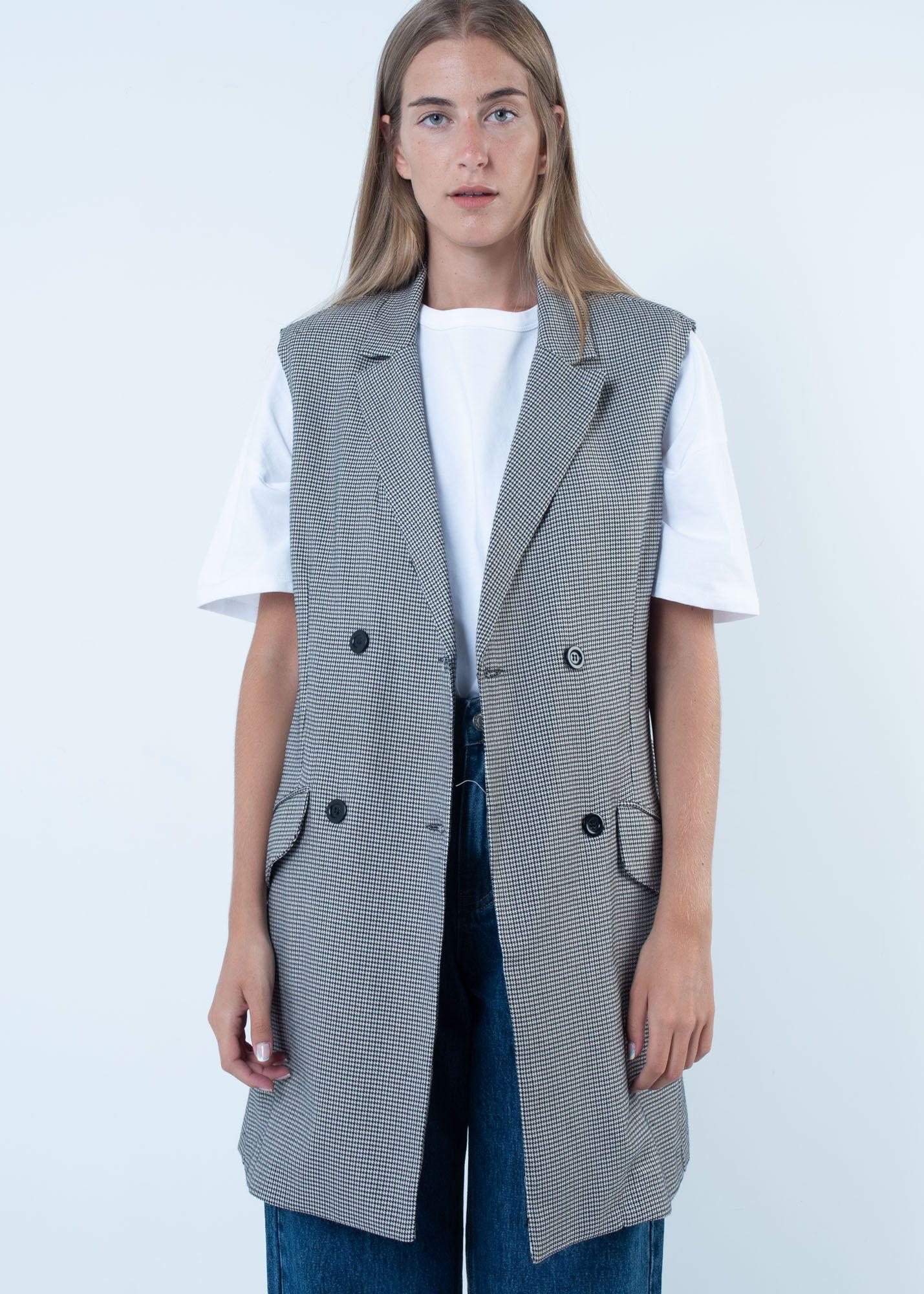 HOUNDSTOOTH BLAZER DRESS